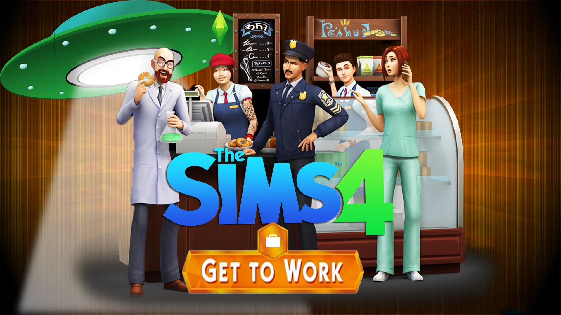 Les Sims 4 Au Travail telecharger gratuit de PC et Torrent