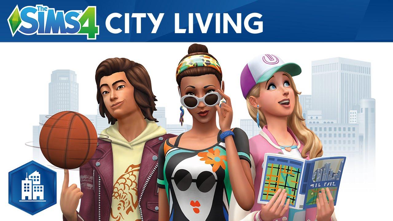Les Sims 4 Vie Citadine telecharger gratuit de PC et Torrent