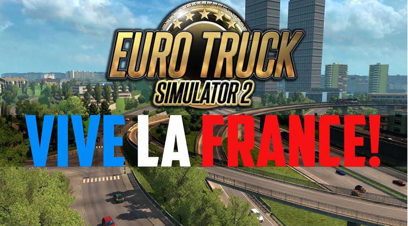 Euro Truck Simulator 2: Vive la France! telecharger gratuit de PC et Torrent