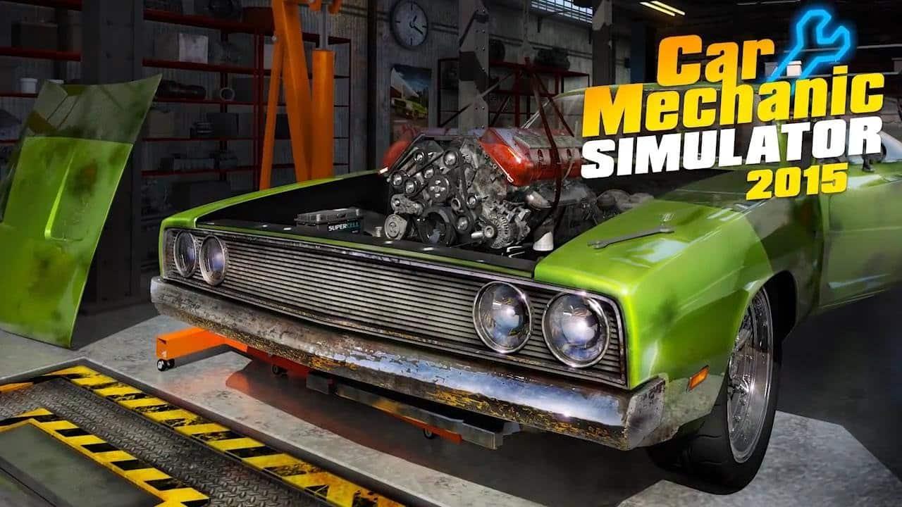 Car Mechanic Simulator 2015 telecharger gratuit de PC et Torrent