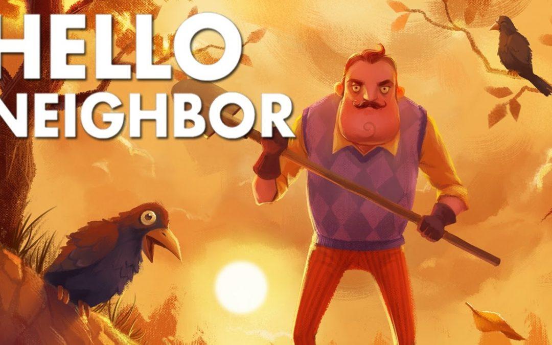 J'ai un voisin très étrange... Je vais donc réaliser une infiltration chez lui sur Hello Neighbor Alpha fr :O!   Ma Nouvelle Vidéo sur Hello Neighbor (la...
