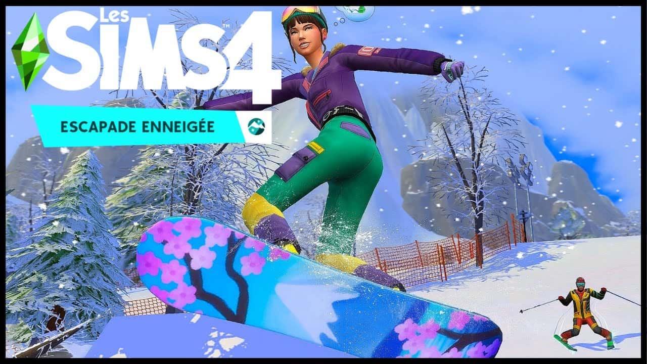 Les Sims 4 Escapade Enneigée Jeux PC gratuit